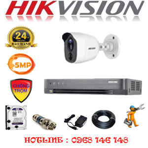 TRỌN BỘ 1 CAMERA HIKVISION 5.0MP (HIK-511600)-HIK-511600