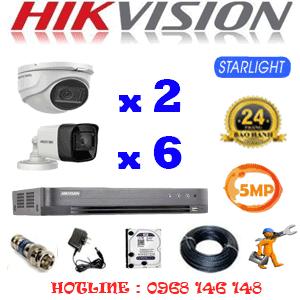 TRỌN BỘ 8 CAMERA HIKVISION 5.0MP (HIK-5219620)-HIK-5219620