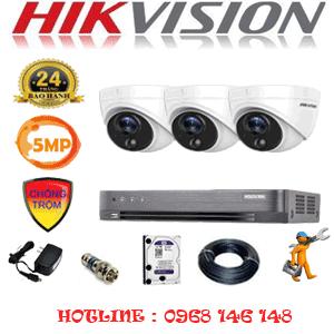TRỌN BỘ 3 CAMERA HIKVISION 5.0MP (HIK-531500)-HIK-531500