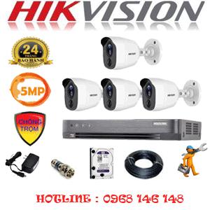 TRỌN BỘ 4 CAMERA HIKVISION 5.0MP (HIK-541600)-HIK-541600