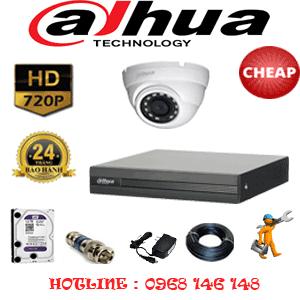 Lắp Đặt Trọn Bộ 1 Camera Dahua 1.0Mp (Dah-11100)-DAH-11100C