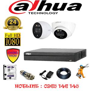 Lắp Đặt Trọn Bộ 2 Camera Dahua 2.0Mp (Dah-2111112)-DAH-2111112