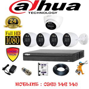 Lắp Đặt Trọn Bộ 5 Camera Dahua 2.0Mp (Dah-2111412)-DAH-2111412