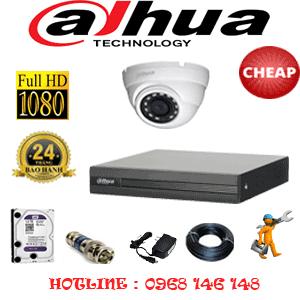 Lắp Đặt Trọn Bộ 1 Camera Dahua 2.0Mp Lite (Dah-21300)-DAH-21300C