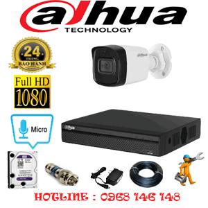Lắp Đặt Trọn Bộ 1 Camera Dahua 2.0Mp (Dah-21600)-DAH-21600