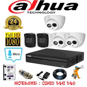 Lắp Đặt Trọn Bộ 5 Camera Dahua 2.0Mp (Dah-23526)-DAH-23526
