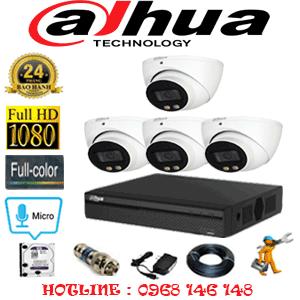 Lắp Đặt Trọn Bộ 4 Camera Dahua 2.0Mp (Dah-24700)-DAH-24700