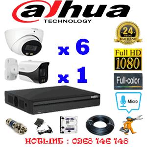 Lắp Đặt Trọn Bộ 7 Camera Dahua 2.0Mp (Dah-26718)-DAH-26718