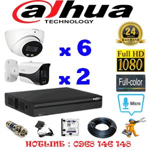 Lắp Đặt Trọn Bộ 8 Camera Dahua 2.0Mp (Dah-26728)-DAH-26728