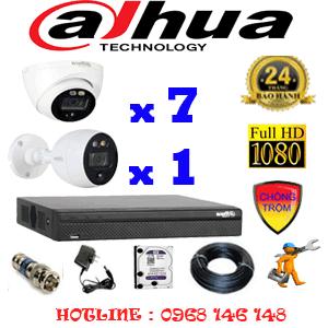 Lắp Đặt Trọn Bộ 8 Camera Dahua 2.0Mp (Dah-2711112)-DAH-2711112
