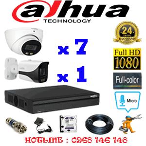 Lắp Đặt Trọn Bộ 8 Camera Dahua 2.0Mp (Dah-27718)-DAH-27718