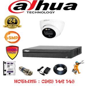 Lắp Đặt Trọn Bộ 1 Camera Dahua 5.0Mp (Dah-511300)-DAH-511300