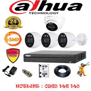 Lắp Đặt Trọn Bộ 4 Camera Dahua 5.0Mp (Dah-5113314)-DAH-5113314