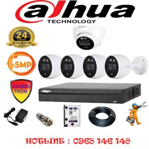 Lắp Đặt Trọn Bộ 5 Camera Dahua 5.0Mp (Dah-5113414)-DAH-5113414