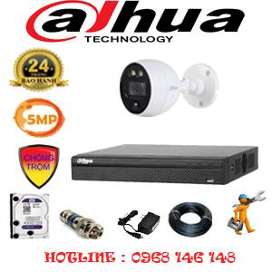 Lắp Đặt Trọn Bộ 1 Camera Dahua 5.0Mp (Dah-511400)-DAH-511400