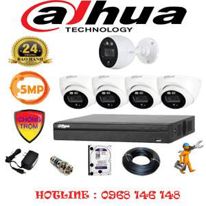 Lắp Đặt Trọn Bộ 5 Camera Dahua 5.0Mp (Dah-5413114)-DAH-5413114
