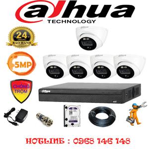 Lắp Đặt Trọn Bộ 5 Camera Dahua 5.0Mp (Dah-551300)-DAH-551300