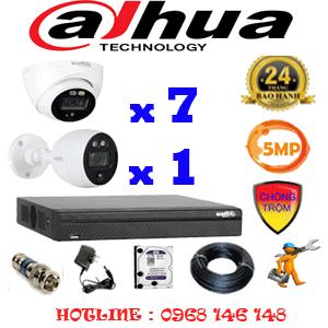Lắp Đặt Trọn Bộ 8 Camera Dahua 5.0Mp (Dah-5713114)-DAH-5713114