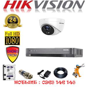 Lắp Đặt Trọn Bộ 1 Camera Hikvision 2.0Mp (Hik-211700)-HIK-211700
