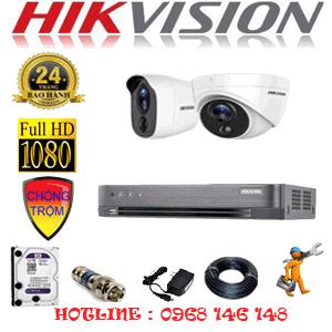 Lắp Đặt Trọn Bộ 2 Camera Hikvision 2.0Mp (Hik-2117118)-HIK-2117118