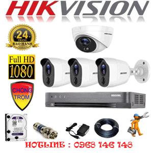 TRỌN BỘ 4 CAMERA HIKVISION 2.0MP (HIK-2117318)-HIK-2117318