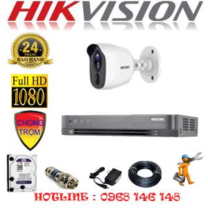 TRỌN BỘ 1 CAMERA HIKVISION 2.0MP (HIK-211800)-HIK-211800