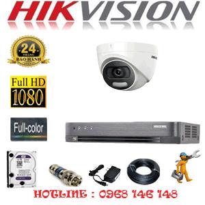 TRỌN BỘ 1 CAMERA HIKVISION 2.0MP (HIK-21500)-HIK-21500