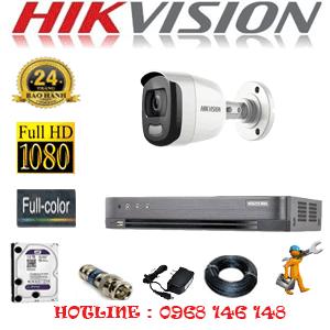 TRỌN BỘ 1 CAMERA HIKVISION 2.0MP (HIK-21600)-HIK-21600-1