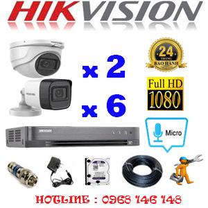 TRỌN BỘ 8 CAMERA HIKVISION 2.0MP (HIK-2223624)-HIK-2223624