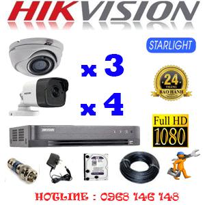 Lắp Đặt Trọn Bộ 7 Camera Hikvision 2.0Mp (Hik-2327428)-HIK-2327428