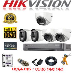 TRỌN BỘ 5 CAMERA HIKVISION 2.0MP (HIK-23526)-HIK-23526
