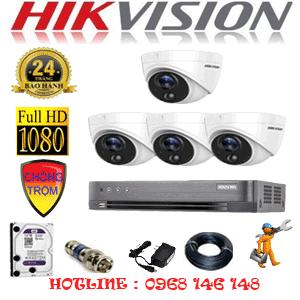 Trọn Bộ 4 Camera Hikvision 2.0Mp (Hik-241700)-HIK-241700