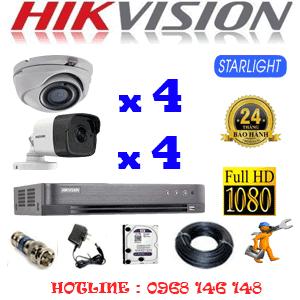 Lắp Đặt Trọn Bộ 8 Camera Hikvision 2.0Mp (Hik-2427428)-HIK-2427428