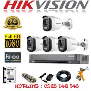 TRỌN BỘ 4 CAMERA HIKVISION 2.0MP (HIK-24600)-HIK-24600