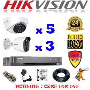 TRỌN BỘ 8 CAMERA HIKVISION 2.0MP (HIK-2517318)-HIK-2517318