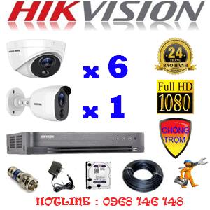 TRỌN BỘ 7 CAMERA HIKVISION 2.0MP (HIK-2617118)-HIK-2617118