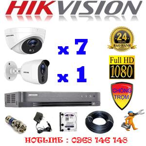 TRỌN BỘ 8 CAMERA HIKVISION 2.0MP (HIK-2717118)-HIK-2717118