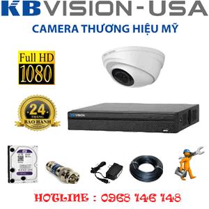 TRỌN BỘ 1 CAMERA KBVISON 2.0MP (KB-211100)-KB-211100