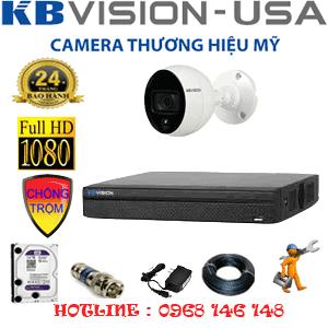 Trọn Bộ 1 Camera Kbvision 2.0Mp (Kb-21500)-KB-21500