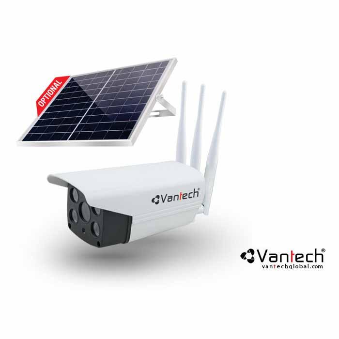 Camera Ai Solar Wifi 4.0Mp Kết Nối Mạng 4G Vantech Ai-V2034C-AI-V2034C