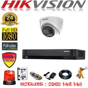 Lắp Đặt Trọn Bộ 1 Camera Hikvision 2.0Mp (Hik-213100)-HIK-213100