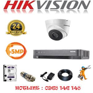 Lắp Đặt Trọn Bộ 1 Camera Hikvision 5.0Mp (Hik-513300)-HIK-513300