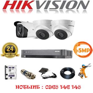 Lắp Đặt Trọn Bộ 3 Camera Hikvision 5.0Mp (Hik-5233134)-Hik-5233134