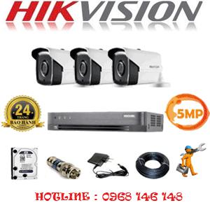 Trọn Bộ 3 Camera Hikvision 5.0Mp (Hik-533400)-HIK-533400