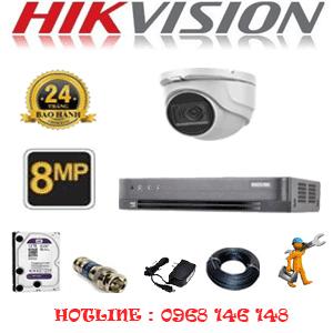 Lắp Đặt Trọn Bộ 1 Camera Hikvision 8.0Mp (Hik-812900)-HIK-812900