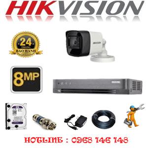 Lắp Đặt Trọn Bộ 1 Camera Hikvision 8.0Mp (Hik-813000)-HIK-813000