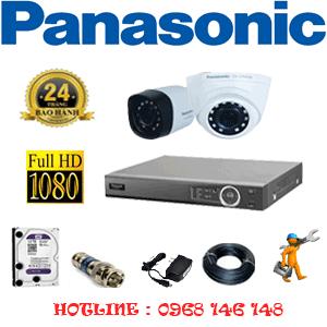 Lắp Đặt Trọn Bộ 2 Camera Panasonic 2.0Mp (Pan-21314)-PAN-21314