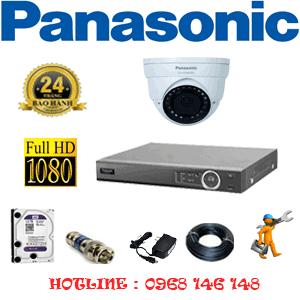 Lắp Đặt Trọn Bộ 1 Camera Panasonic 2.0Mp (Pan-21500)-PAN-21500