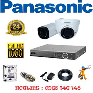 Lắp Đặt Trọn Bộ 2 Camera Panasonic 2.0Mp (Pan-21516)-PAN-21516