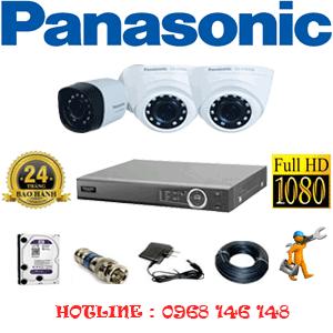 Lắp Đặt Trọn Bộ 3 Camera Panasonic 2.0Mp (Pan-22314)-PAN-22314